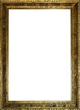 老框架金子 免版税库存照片