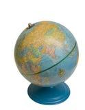 老桌面地球 免版税库存图片