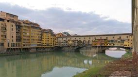 老桥梁在佛罗伦萨 免版税图库摄影