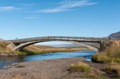 老桥梁在冰岛 免版税库存照片
