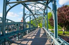 老桥梁在吕贝克德国 免版税库存照片