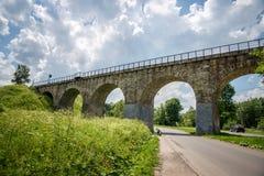 老桥梁在Vorokhta 库存照片