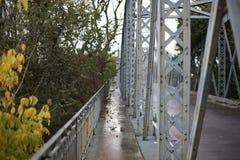老桥梁路巴伦西亚 免版税库存照片