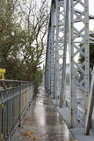 老桥梁路巴伦西亚 库存图片