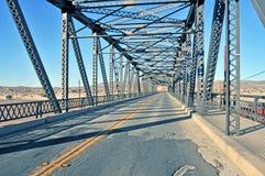 老桥梁铁 图库摄影