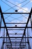 老桥梁 库存照片
