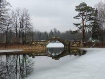 老桥梁 免版税库存图片