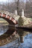 老桥梁 免版税库存照片