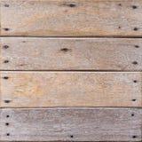 老棕色木板 免版税库存照片