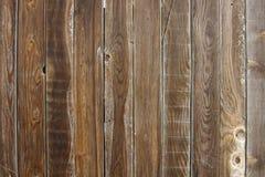 老棕色木背景,木纹理 免版税库存照片