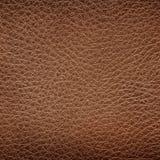老棕色皮革纹理 免版税库存图片