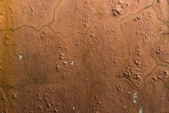 老棕色石头 库存照片