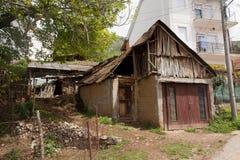 老棚子在Mazedonia 图库摄影