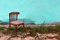 老椅子 库存照片