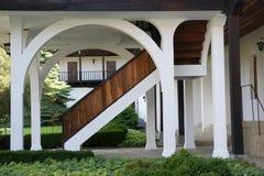 老楼梯- 12 免版税库存照片
