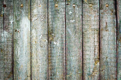 老概略的木板条纹理 库存照片