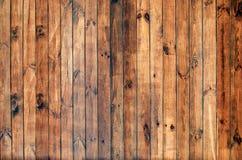 老概略的木板条纹理 库存图片
