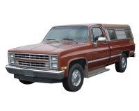 老概述的卡车 免版税库存图片