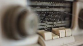 老模式收音机 库存照片