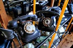 老模式电话 免版税库存图片