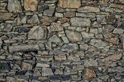 老模式石墙 免版税库存图片