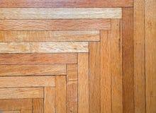 老橡木硬木地板背景 库存照片