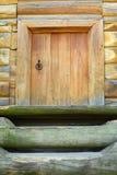 老橡木门 免版税图库摄影