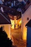 老欧洲城镇 图库摄影