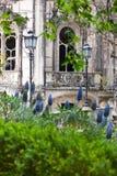 老欧洲人Arhitecture/金塔da Regaleira宫殿在辛特拉, 库存照片