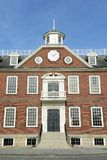 老殖民地议院,纽波特,罗德岛州 库存照片