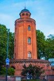 老水塔在图卢兹 免版税库存照片