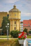 老水塔在武科瓦尔 库存照片
