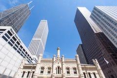 老水塔芝加哥伊利诺伊 库存照片
