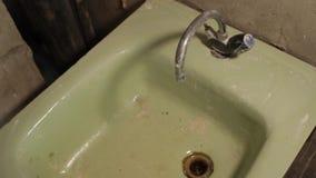 老水槽 绿色水槽 老轻拍 影视素材