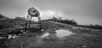 老汽油桶 免版税图库摄影