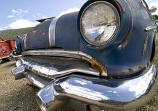 老汽车前面  库存图片