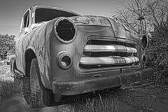 老汽车在Gamkaskloof 图库摄影