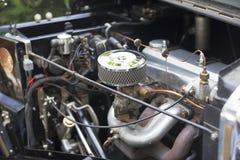 老汽车引擎 免版税库存照片
