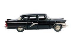 老汽车的微型版本 免版税图库摄影