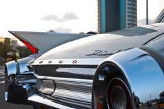 老汽车,减速火箭的汽车 免版税库存照片