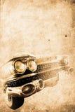 老汽车 向量例证