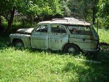 老汽车 免版税图库摄影