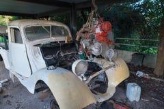 老汽车 库存照片