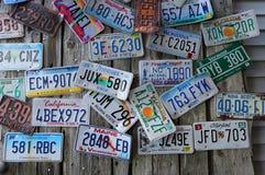 老汽车lisinse板材 库存照片