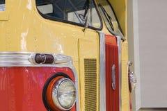 老汽车ZIS的展出品在exhibitio的 免版税库存照片