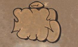老沙子墙壁纹理背景 免版税库存照片