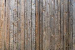 老没有漆的委员会背景特写镜头篱芭  免版税库存照片
