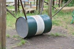 老油桶 免版税库存图片