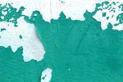老油漆颜色绿色 库存图片