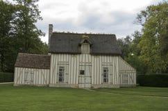 老法国房子 免版税库存照片